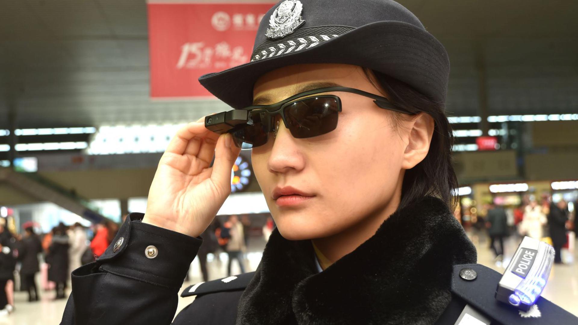 Умные очки для китайской полиции