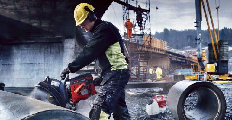 Бесшумная техника резки бетона в Киеве